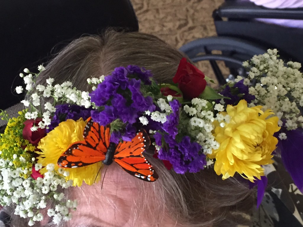 Kentucky Derby Floral Crowns therapeutic horticulture eatbreathegarden