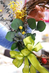 Therapeutic Horticulture Spring Wreath