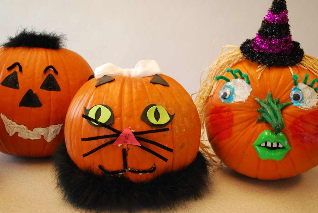 Themed Pumpkins